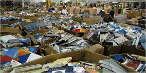 How a Trip to the Recycling Center Yielded $3,000 in Books