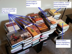 Books from Greenville NC with labels part 2