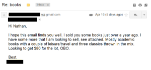 Benefits of Buying Books from Private Contacts