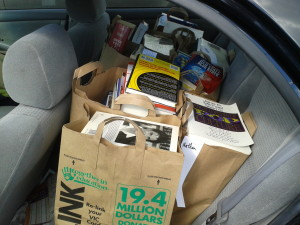 Book Sale Results in Pittsboro, NC