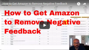 How to get Negative Feedback Removed